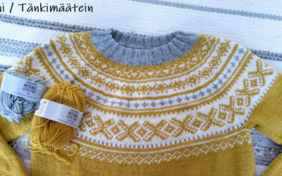 Drops Lemon Pie -muunnelma Drops Merino Extra Finesta
