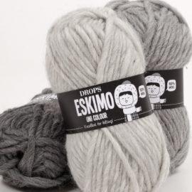 Drops Eskimo – paksu, huovutettava villalanka
