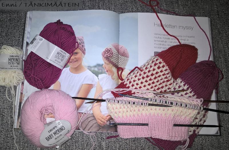 KlompeLOMPE Henrietten myssy x 3