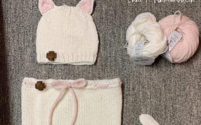 Kissapussi ja -myssy Drops Baby Merinosta