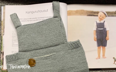 Klompelompe Kenguruhousut Drops Cotton Merinosta