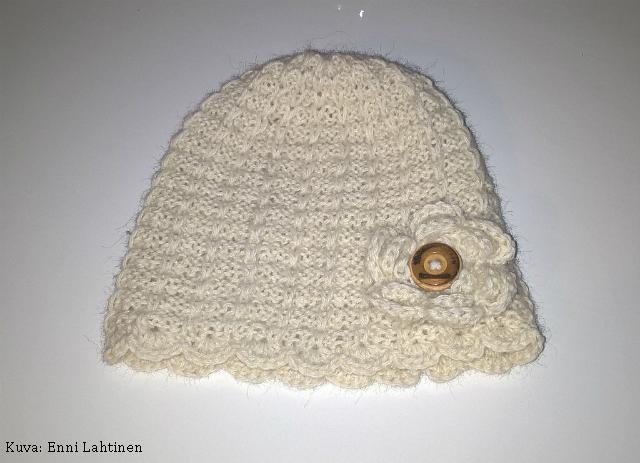 Alpakkainen (Klompelompe) Nuppuliini-myssy