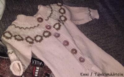 Klompelompe-villahaalari Drops Baby Merinosta