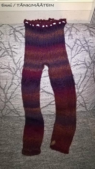 Valmiit housut. :)