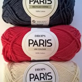 Drops Paris – paksumpi puuvillalanka