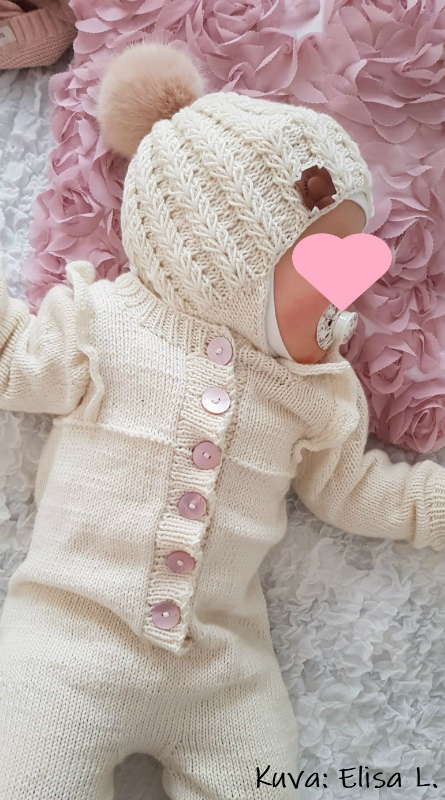 Myssy ja haalari tositoimissa. Kiitos kuvasta ja julkaisuluvasta pikkuprinsessan äidille!