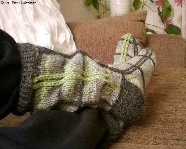 Ruutusukat – sukat joita en aikonut tehdä