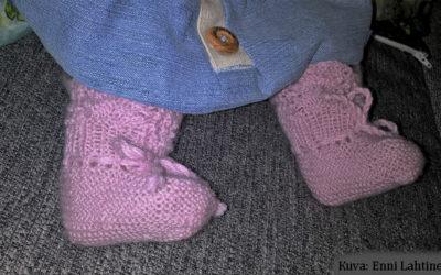 Roly Poly -alpakkatossut vauvalle