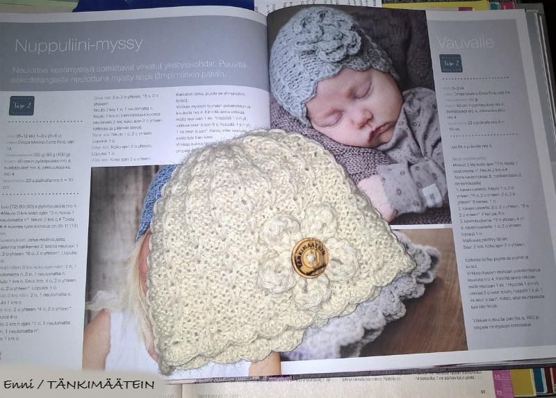 KlompeLOMPE Nuppuliini-myssy vauvalle.